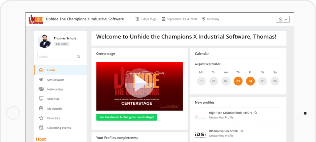 Unhide the Champoins x Industrial Software
